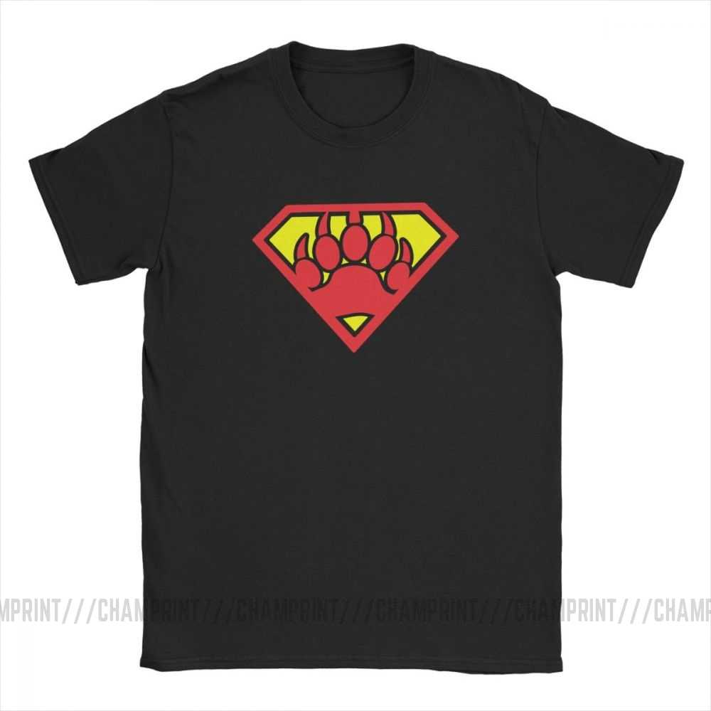 Casual Super Bear Gay Pride Cub Gay día LGBT camiseta para hombres algodón camiseta de manga corta Camiseta de talla grande ropa de talla grande 4XL 5XL
