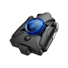Meeker ゲームパッドジョイスティック pubg ジョイパッドトリガー火災ボタン 3 1 で調整可能なシューター pubg 携帯電話用ゲームパッド