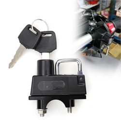 Motorcycle Handlebar CNC Accessories Helmet Lock For HONDA VFR800 VFR800X VFR800F VFR1200F VFR1200X CBR900RR CBR929 CBR954