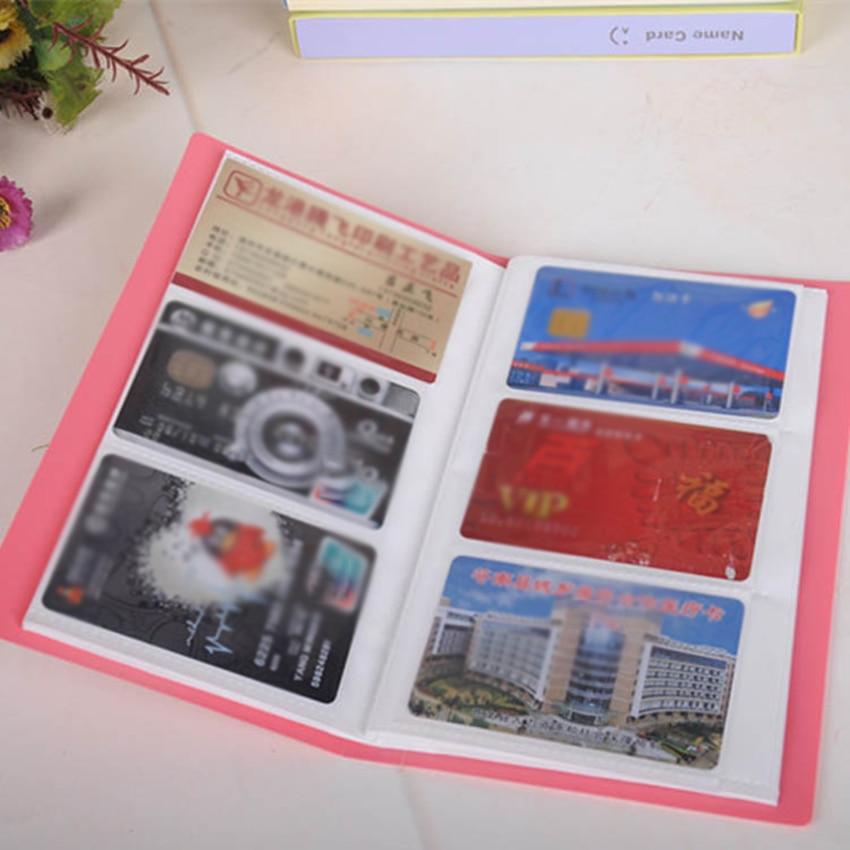 ID Holder Name Card Ticket 120 Pockets Photo Album Photocard Business Card