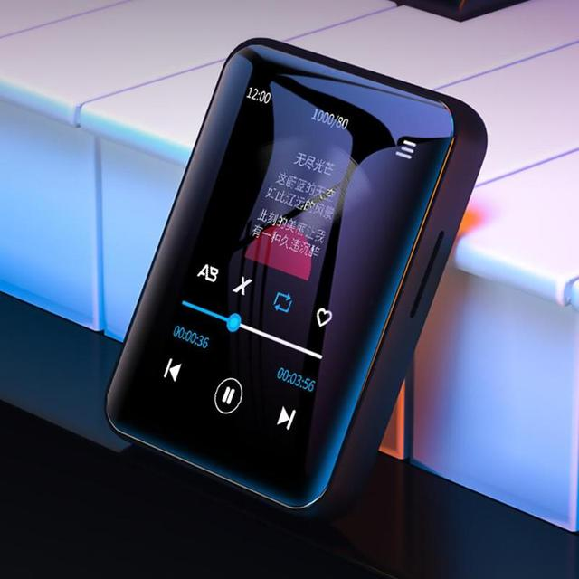 BENJIE X1 Bluetooth מגע מסך MP4 נגן BT5.0 FM רדיו מקלט built רמקול ספר אלקטרוני עם אוזניות תמיכה TF כרטיס