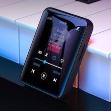 BENJIE X1 Bluetooth dokunmatik ekran MP4 oynatıcı BT5.0 FM radyo alıcısı dahili hoparlör ile e kitap kulaklık desteği TF kart