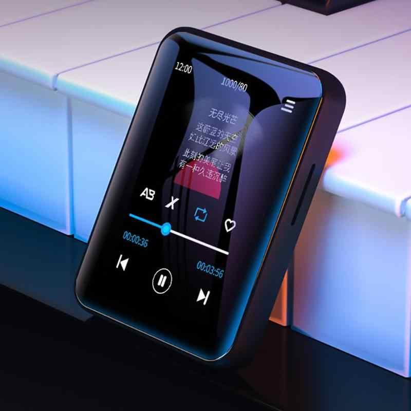 Benjie X1 bluetooth タッチスクリーン MP4 プレーヤー BT5.0 fm ラジオ受信機内蔵スピーカー電子書籍ヘッドフォンサポート tf カード