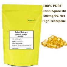 Капсула для масла reishi spore 500 мг 100% чистое эфирное масло