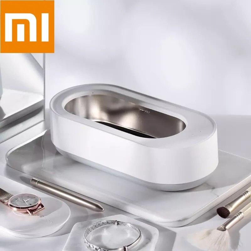 Где купить На складе Новый Xiaomi Mijia Youpin EraClean ультразвуковая Чистящая машина 45000 Гц высокая частота вибрации мыть все