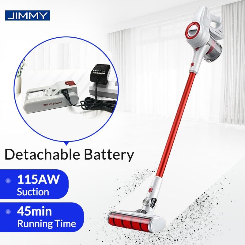 JIMMY – aspirateur à main sans fil JV51/JM52, aspiration 115aw, collecteur de poussière Mi pour la maison