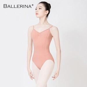 Image 1 - Ballet justaucorps dos nu femmes Ballet fille adulte gymnastique justaucorps danse vêtements ballerine 5549