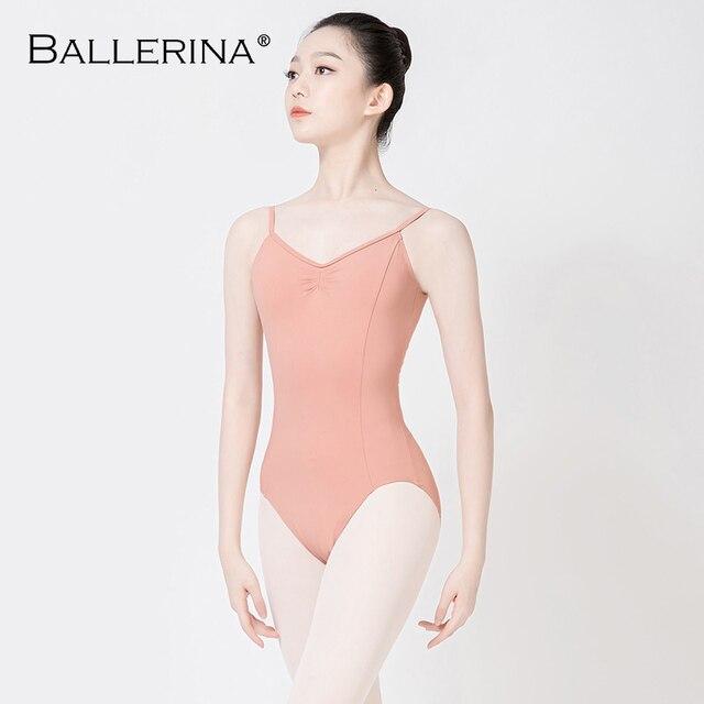 Ballet justaucorps dos nu femmes Ballet fille adulte gymnastique justaucorps danse vêtements ballerine 5549