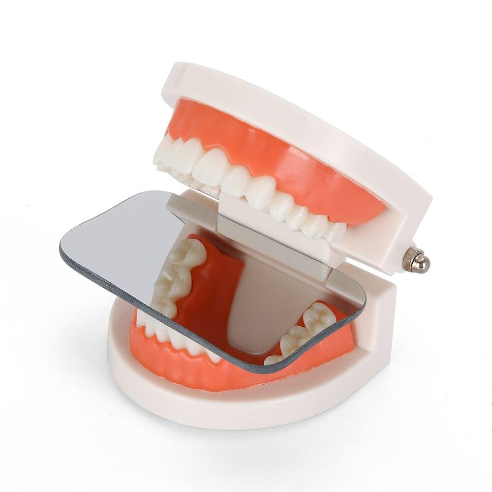 Fotografia Double-Sided Espelhos Dental Ferramentas de Fotografia Dental Espelho de Vidro