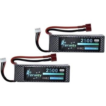 Teranty Power 11.1V 2500mAh Bateria Lipo Dla RC Samochodzik Dla Dziecka łodzie Części śmigłowca 3s Bateria Litowa 2200mah 11.1v Drony Bateria