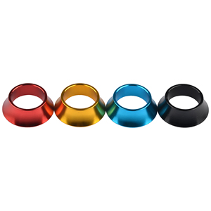 Aluminum alloy CNC Bicycle Headset Taper Washer Road Mountain Bike Headsets Cover Stem Spacers Fork Washer Bike Parts