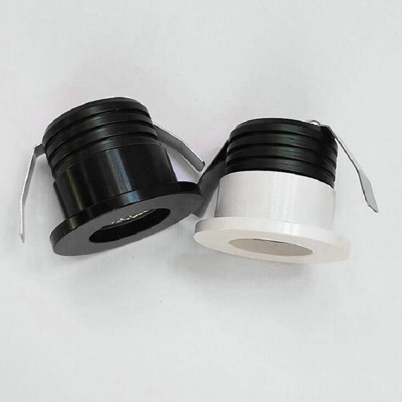 6pcs/lot 3W Small LED Downlights Recessed Mini COB Cabinet Spot Lights Hole Size 30mm