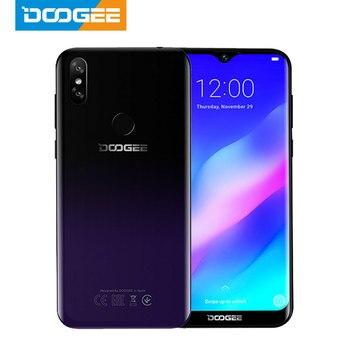 Перейти на Алиэкспресс и купить Телефон DOOGEE Y8 Plus, MTK6761, 3 ГБ ОЗУ 32 ГБ ПЗУ, 4000 мАч, Android 9.0, FDD LTE, 6,21-дюймовый Waterdrop экран 19:9, две SIM-карты, камера 13 Мп