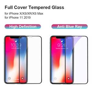 Image 3 - 3D temperli cam iPhone 11 Pro Max iPhone XR X XS Max tam kapak ekran koruyucu koruyucu cam iPhone 11Pro 2019