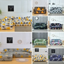 stretch slipcovers flower sofa cover sectional elastic couch cover cubiertas para sofa slipcovers for furniture 1 2 3 4 seater Printed Sofa Slipcovers Elastic Stretch Sectional Sofa Cover Armchair Cover For Living Room Couch Cover 1/2/3/4 Seat