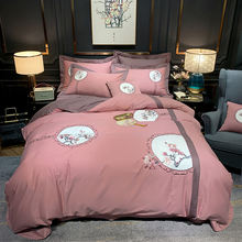 Роскошный комплект постельного белья морфеуса из египетского