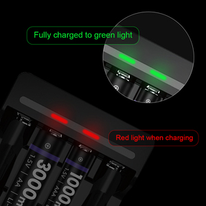 Image 4 - AA Battery Charger 1.5v aa charger for aa aaa 1.5v lithium battery charger with LED display battery charger aaa