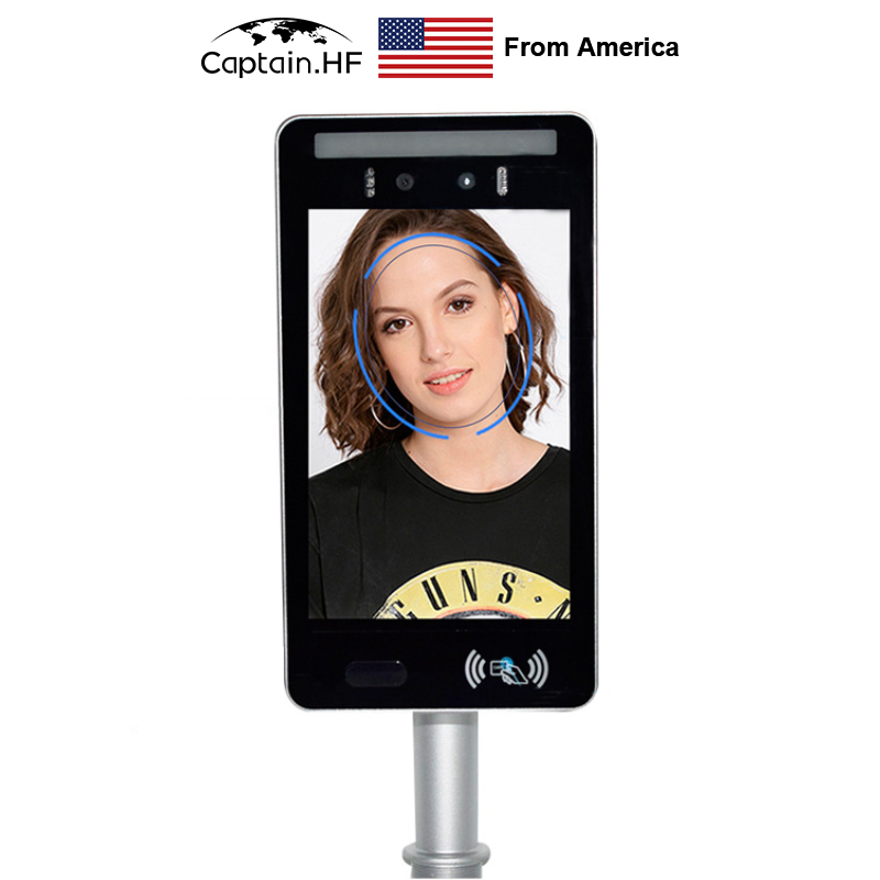 US Captain Face Recognition, Access Control System, Temperature Detection Camera, Access By  Face ID,  Intelligent Module