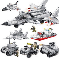 Toys For Children Iron Blood 8 In 1 Fighter Model Kit Compatible Legoing Assembled Educational Building Blocks Brick Kid New O37