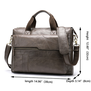 Image 2 - MVA erkek evrak çantası hakiki deri laptop çantası erkek deri çanta ofis çantaları erkekler için laptop avukat evrak çantası erkek çanta 8615