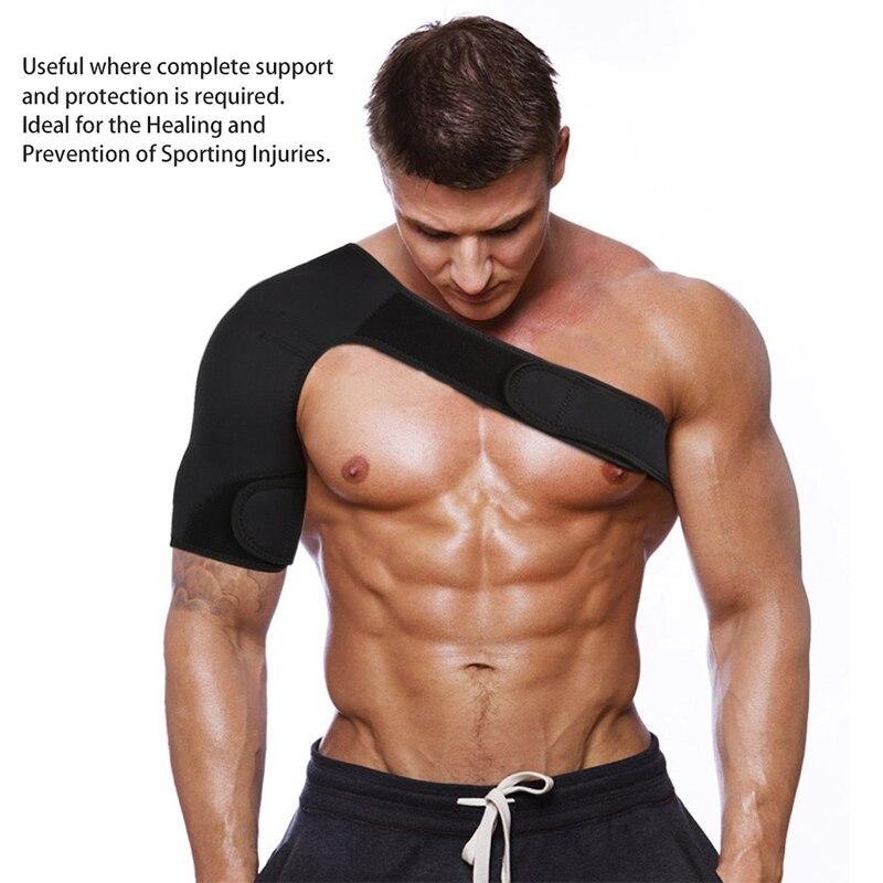 Hot Adjustable Left/Right Shoulder Support Bandage Protector Brace Joint Pain Injury Shoulder Strap IE998