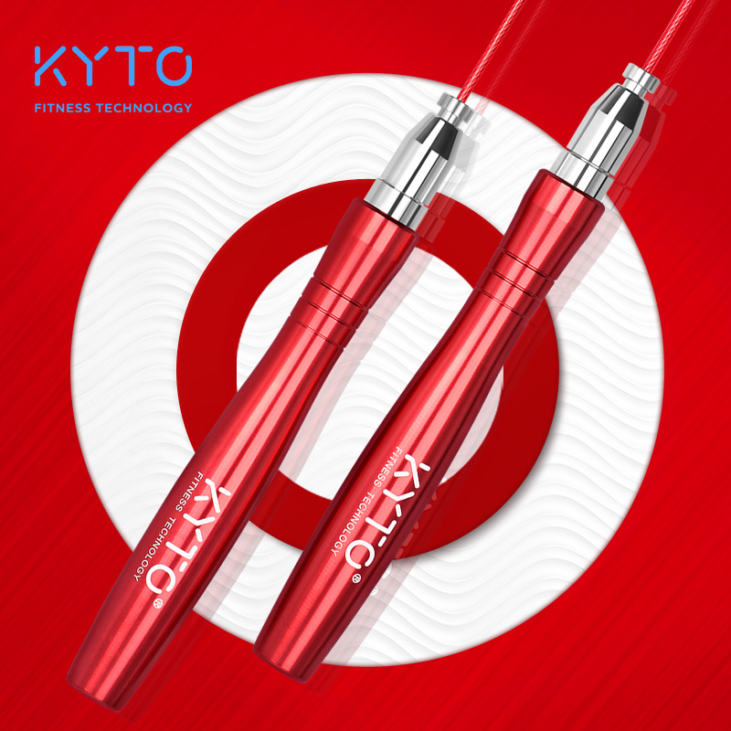 KYTO High-Speed and Adjustable Skipping Rope for Double Unders and Fitness Training 3