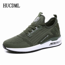 HUCDML Couple Sneakers Shoes Mesh Breathable Hot Sale Unisex