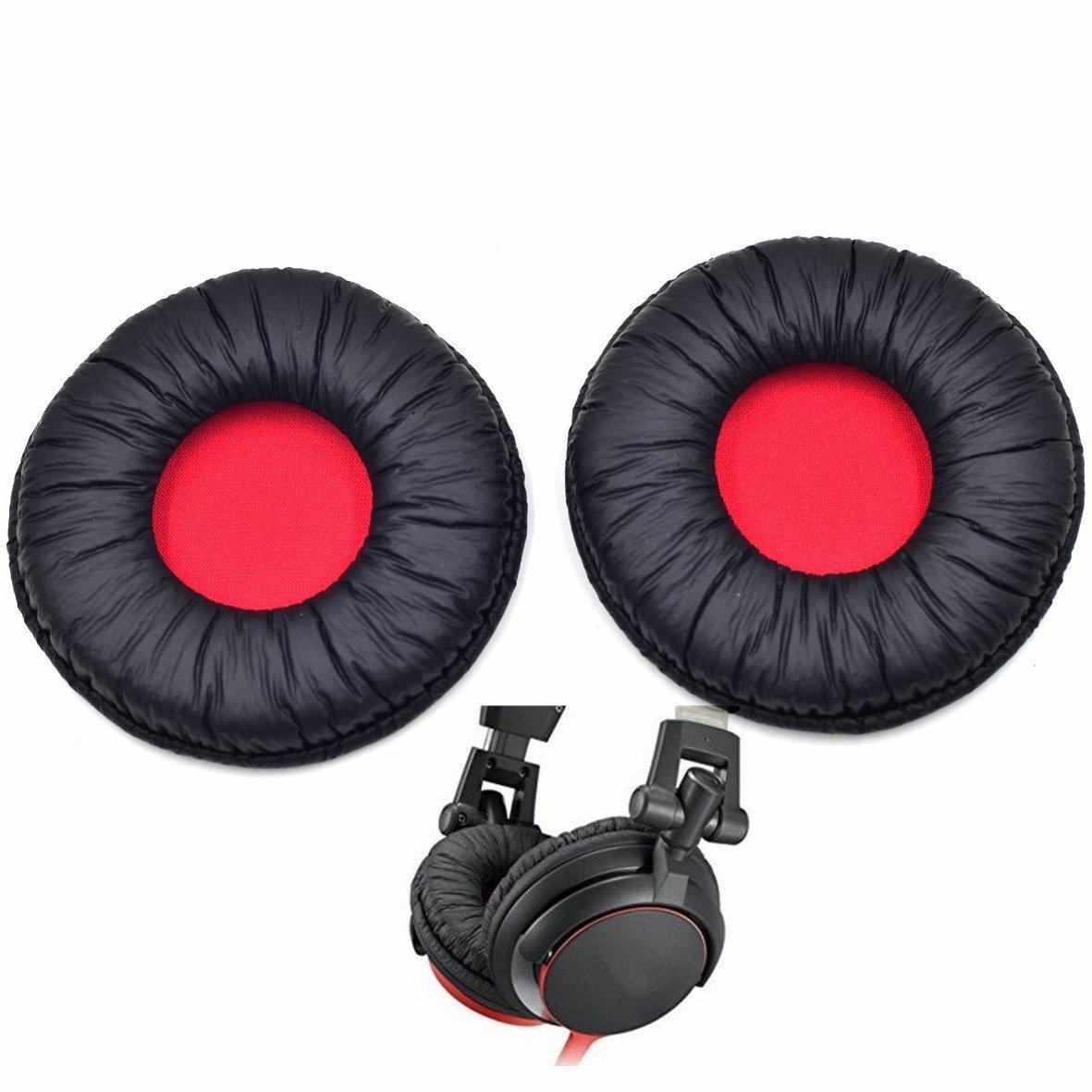 Сменные мягкие кожаные подушечки для наушников sony mdr v55
