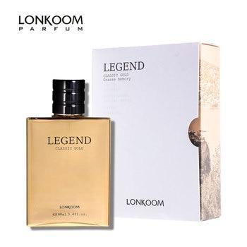 LONKOOM 100ml Original Parfüm Männlichen LEGENDE Eau De Parfum Spray Lang Anhaltende Zerstäuber Deodorants Spray flasche glas