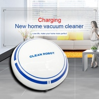 Low Noise Sweeping Robot USB Charging Automatic Cleaning Machine Lazy Smart Vacuum Cleaner Intelligent Sweeping Robot|Brooms & Dustpans|   -