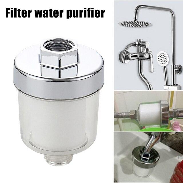 Фото водоочиститель фильтр кран универсальный для кухни ванной комнаты
