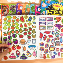 32 Books Paste Sticker Contains 5000 stickers Baby Puzzle Early Education Books Enlightenment Game Toys For Kids 0-3 Years Old