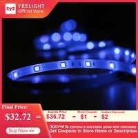 Yelight Smart LED tira colorida 16 millones de luces de Color tira ambiental RGB cinta luces con APP Control de voz 2m tira de luz