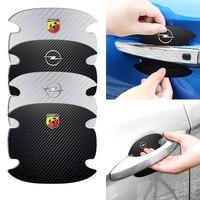 4 Uds puerta del coche adhesivo de manija accesorios protección película para BYD F3 I3 F0 F6 S6 S8 E5 E6 G3 G6 L3 S7 M6 Tang canción Qing Yuan.