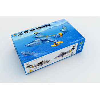 Trumpeter 1/48 Scale 02821 HU-16A Albatross Water Sea Plane Airplane Aircraft Toy Plastic Assembly Model Kit trumpet 01646 1 72 be 6 soviet march water aircraft assembly model