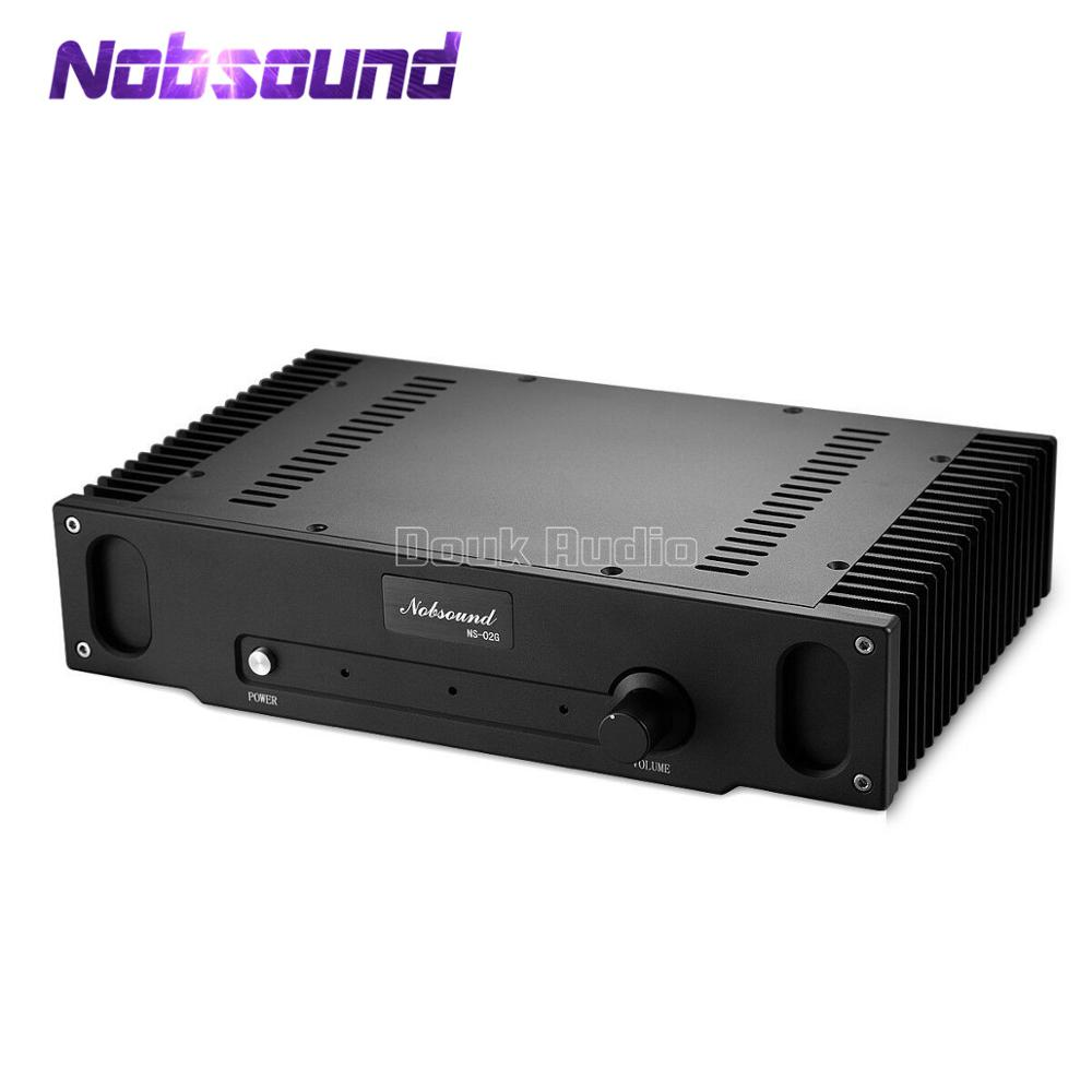 Nobsound Hi-end  Pure Class A Single-ended 2.0 Channel  Amplifier Audio HiFi Power Amplifier Hood 1969 Circuit 8W*2