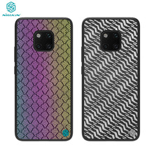 For Huawei Mate 20 Pro Case NILLKIN Reflective Case Support Wireless Charging PC Back Cover for Huawei Mate20 Pro Case Cover