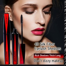 Curl Waterproof Long Lasting  Mascara 3D Stereoscopic Thick Eyelashes Extension Cosmetics