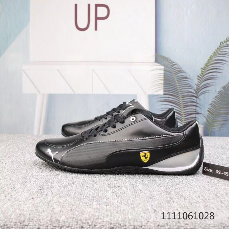 Pumas Future Cat Leather SF Commemorative Fashion Racing Sneakers Shoes Comfortable Leather Breathable Sneakers