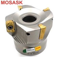 MOSASK BAP300R 40-22-4T Clamped CNC Cutting Steel Right-Angle End Mill Precision Face Milling Cutter