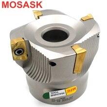 Mosask BAP300R 40 22 4Tクランプcnc切断鋼直角エンドミル精度正面フライスカッター