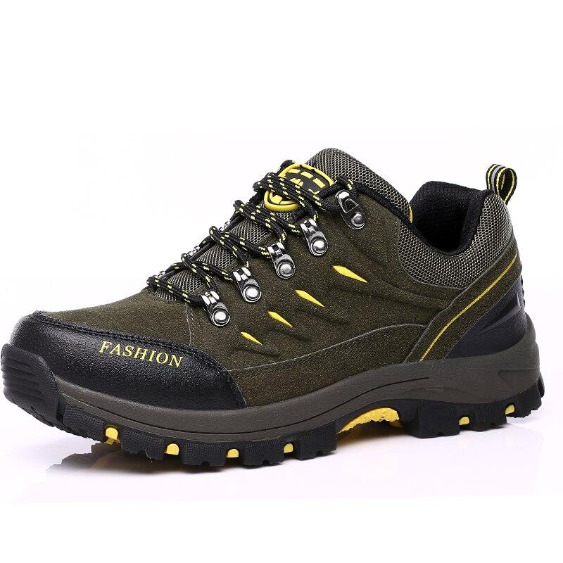 Merk 2020 Lente Zomer Unisex Wandelen Sneakers Voor Mannen Schoenen Suede Out Deur Ademend Mannelijke Schoeisel Volwassen Werk Veiligheid - 5