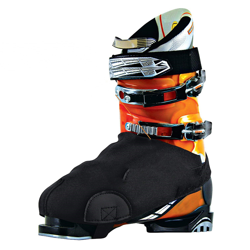 Outdoor Ski Snowboard Waterproof Warm Shoe Covers Snow Boots Covers Protectors With Abrasion Resistant Side Pads