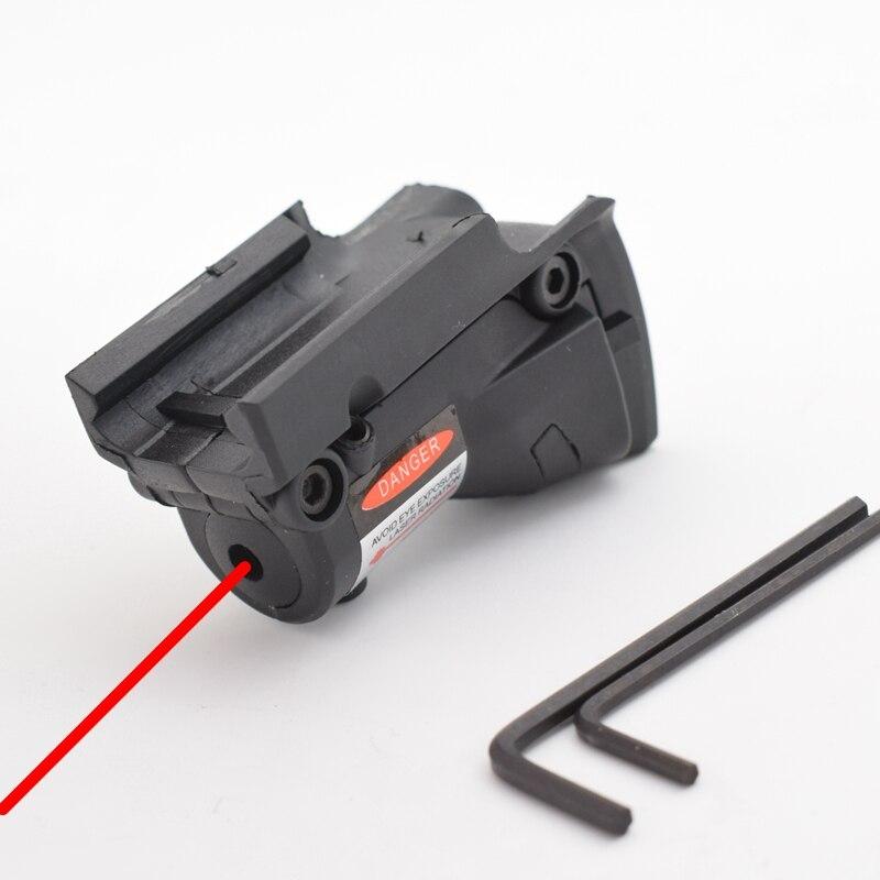 Страйкбольный охотничий лазер с красной точкой для Glock 19 23 22 17 21 37 31 20 34 35 37 38