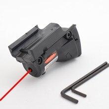 Airsoft polowanie czerwona kropka Laser do Glock 19 23 22 17 21 37 31 20 34 35 37 38