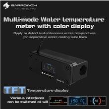 BARROWCH FBFT02 и V3, измеритель температуры водяного охлаждения, многомодовый OLED цифровой смарт-дисплей, температура в режиме реального времени