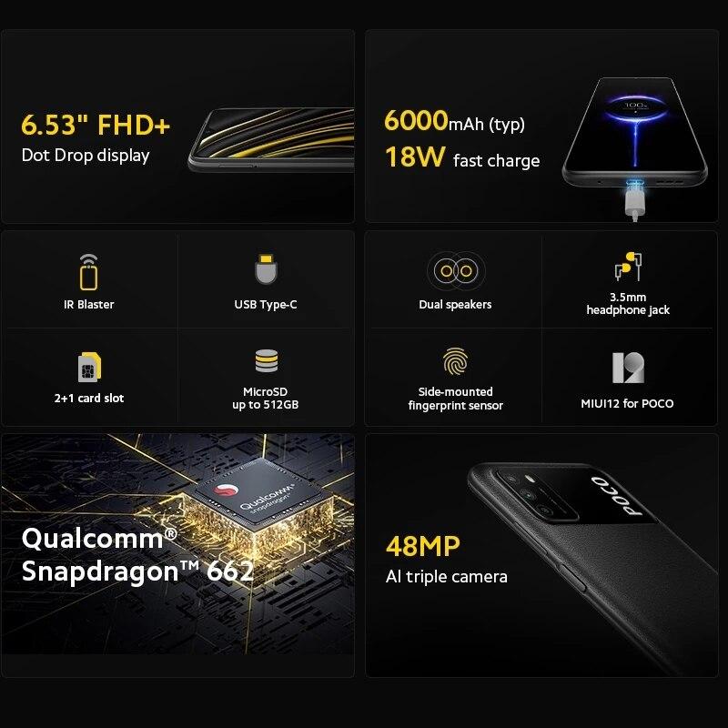 Global Version POCO M3 Smartphone  4