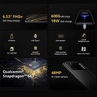 Global Version POCO M3 Smartphone Snapdragon 662 Octa Core 4GB 64GB/128GB 6.53 1