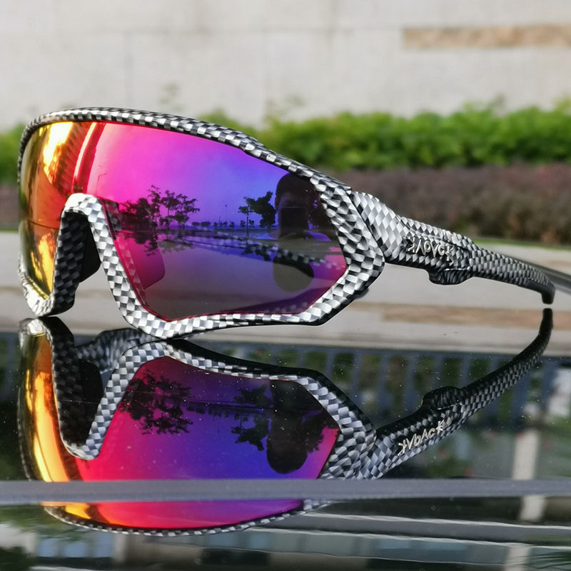 Image 2 - 2019 Polarized 5 Lens Cycling Glasses Road Bike Cycling Eyewear Cycling Sunglasses MTB Mountain Bicycle Cycling Goggles UV400Cycling Eyewear   -