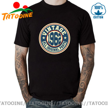 Tatooine Vintage 1962 All Original Parts T shirt men Retro Born in T-shirt 60s Apparel Made tshirt Hipster Tops Tee - discount item  46% OFF Tops & Tees
